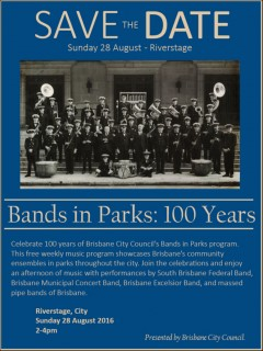 Bands in Parks: 100 Years