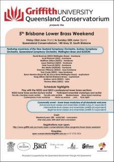 Brisbane Lower Brass Weekend